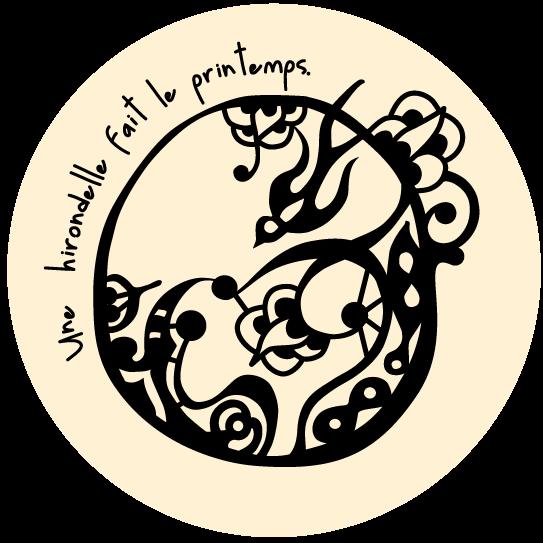 Une hirondelle fait le printemps Logo