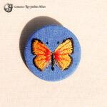 Papillon Cuivrée verge d'or