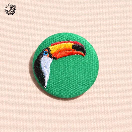 Toucan vert