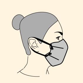 Masque lacet oreilles